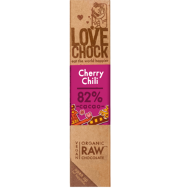 Lovechock Cherry Chili Organic Raw Chocolate