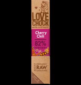 Lovechock Cherry Chili Organic Raw Chocolate