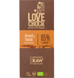 Lovechock Almond + Baobab Chocolate