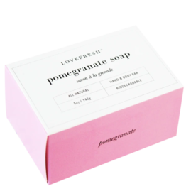 Lovefresh Pomegranate Soap