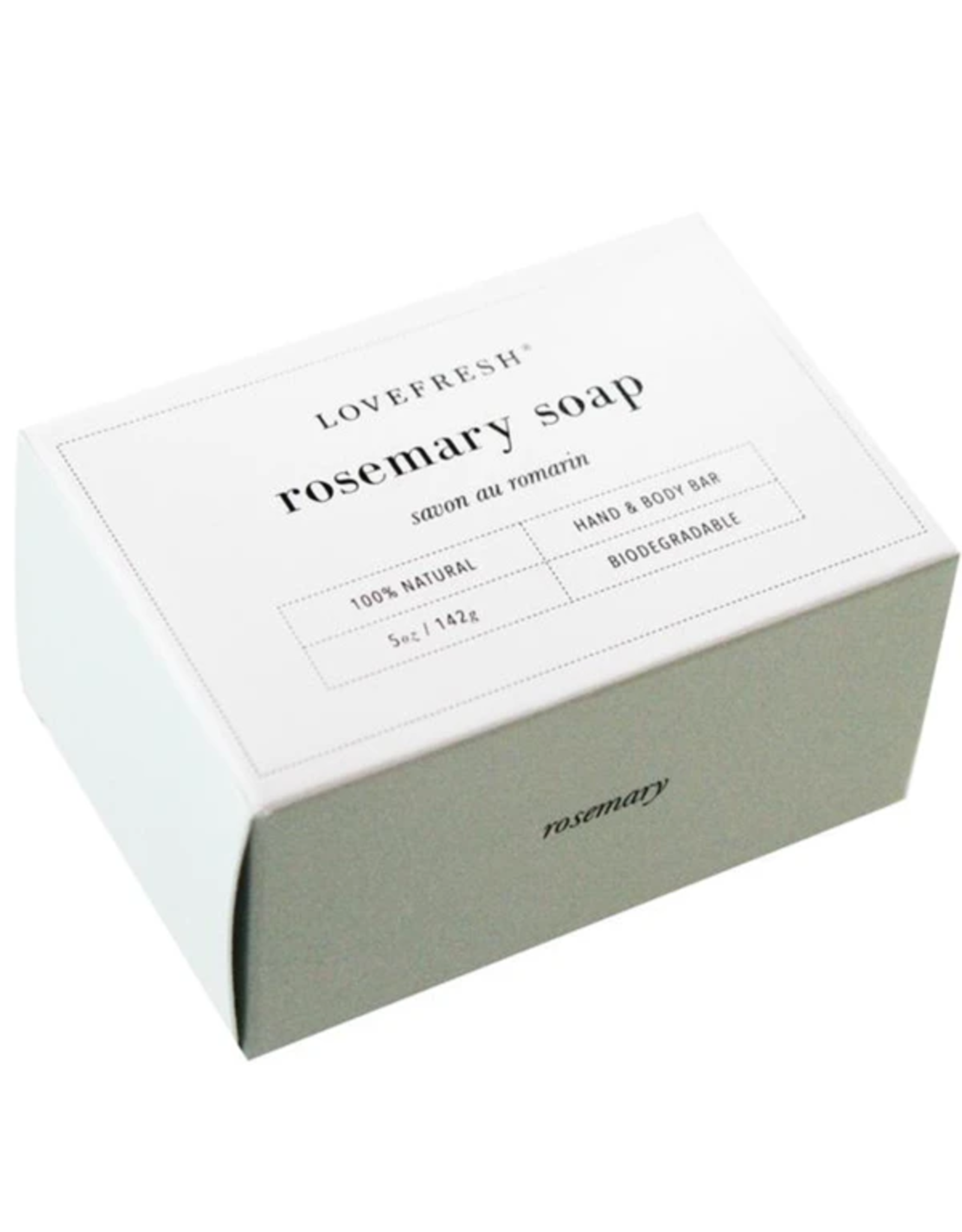 Lovefresh Rosemary Soap
