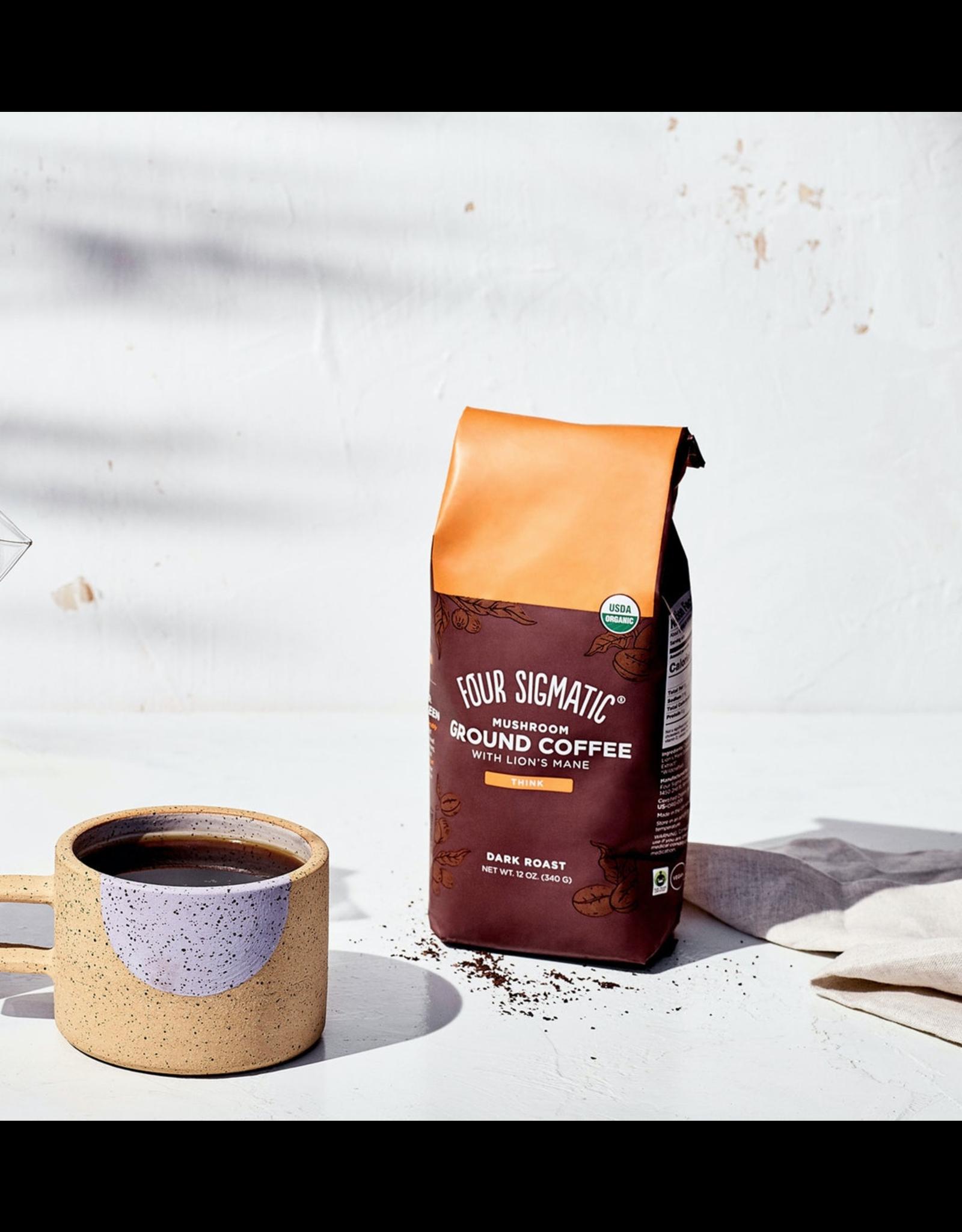 Four Sigmatic Mushroom Ground Coffee w/ Lion's Mane