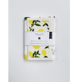 Ten & Co Gift Sets (tea towel + sponge cloth)