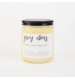Calm Down Club Juicy Citrus Soy Candle
