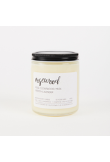 Calm Down Club Rosewood Soy Candle