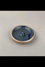 Incausa Stoneware Incense Burner - Blue