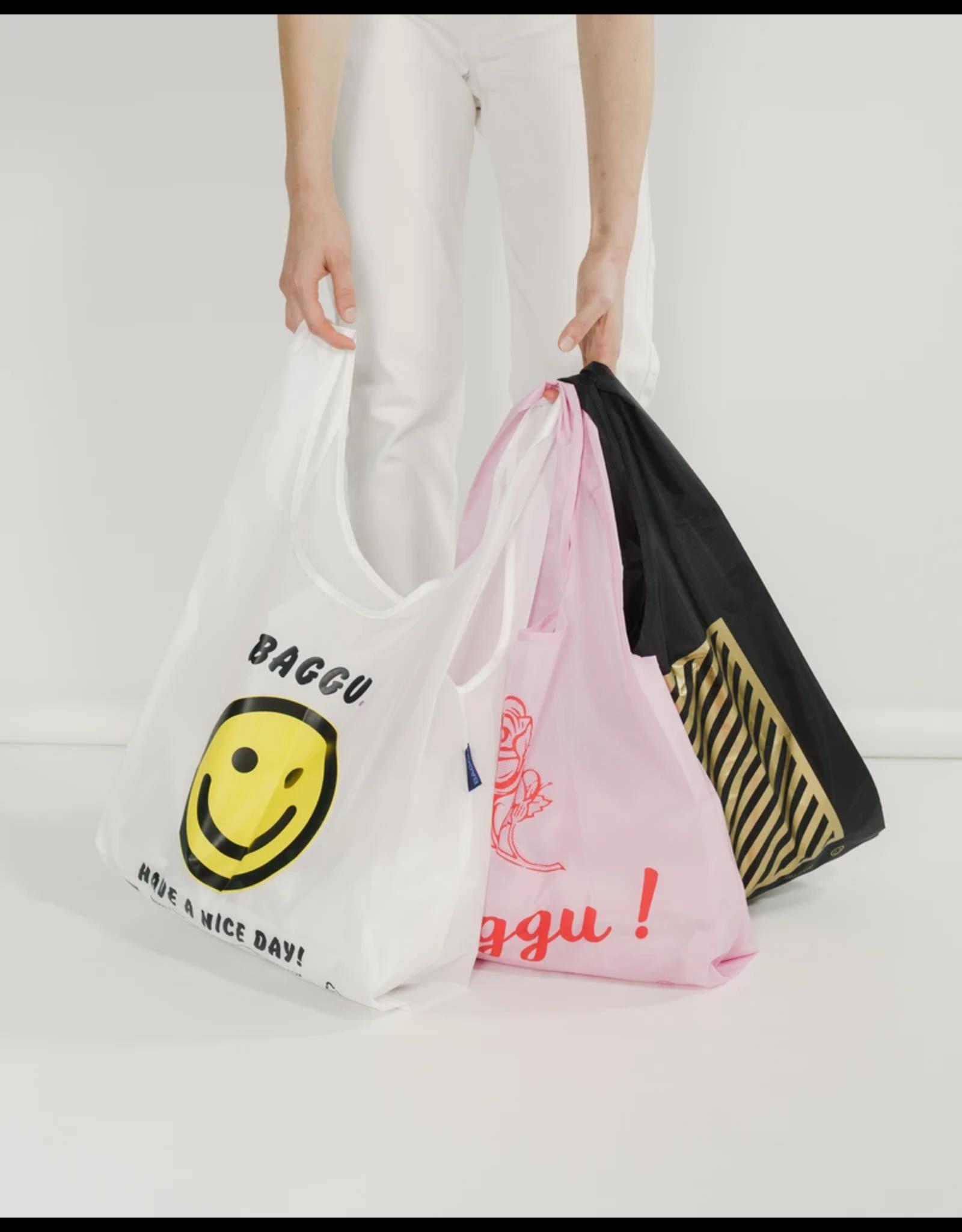 Baggu Baggu Set of 3 Reusable Bags - Thank You