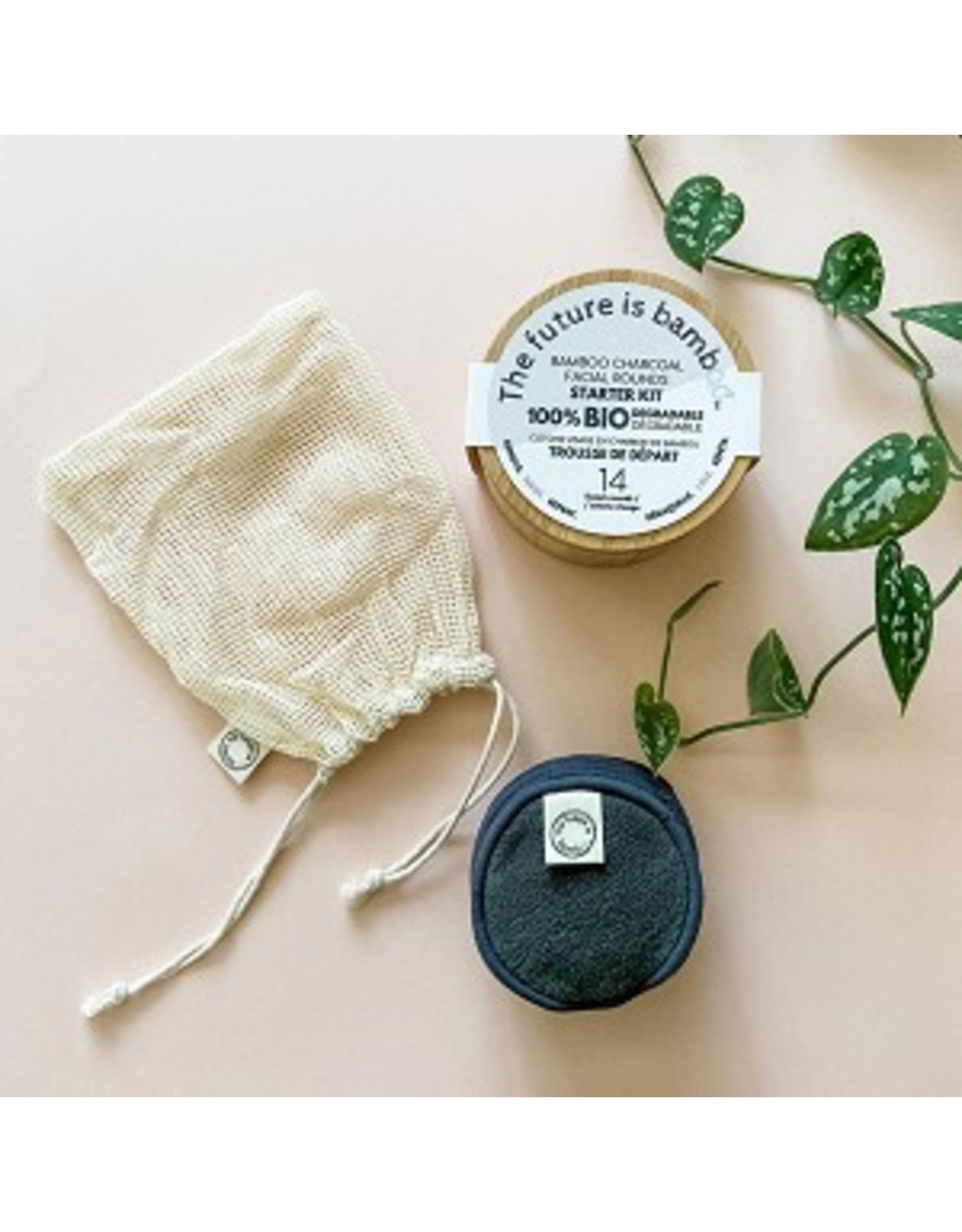 The Future is Bamboo Bamboo Facial Rounds Starter Kit