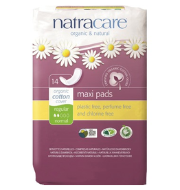 Natracare Organic Cotton Maxi Pads Regular