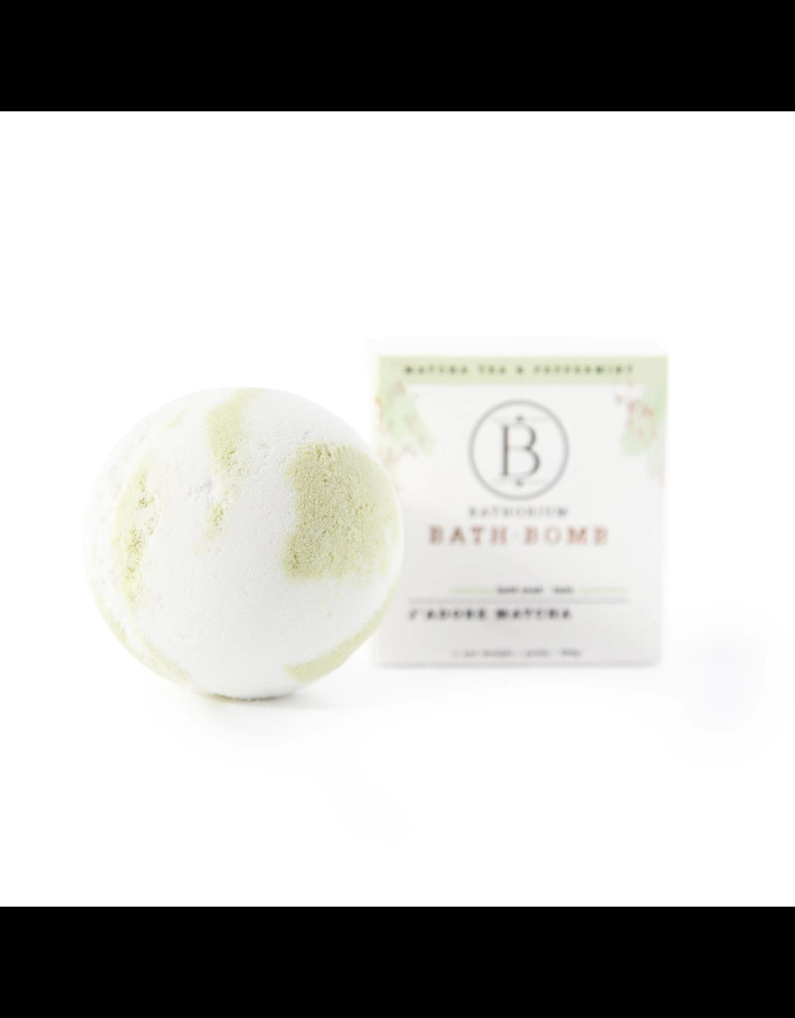 Bathorium Bath Bomb - J'adore Matcha