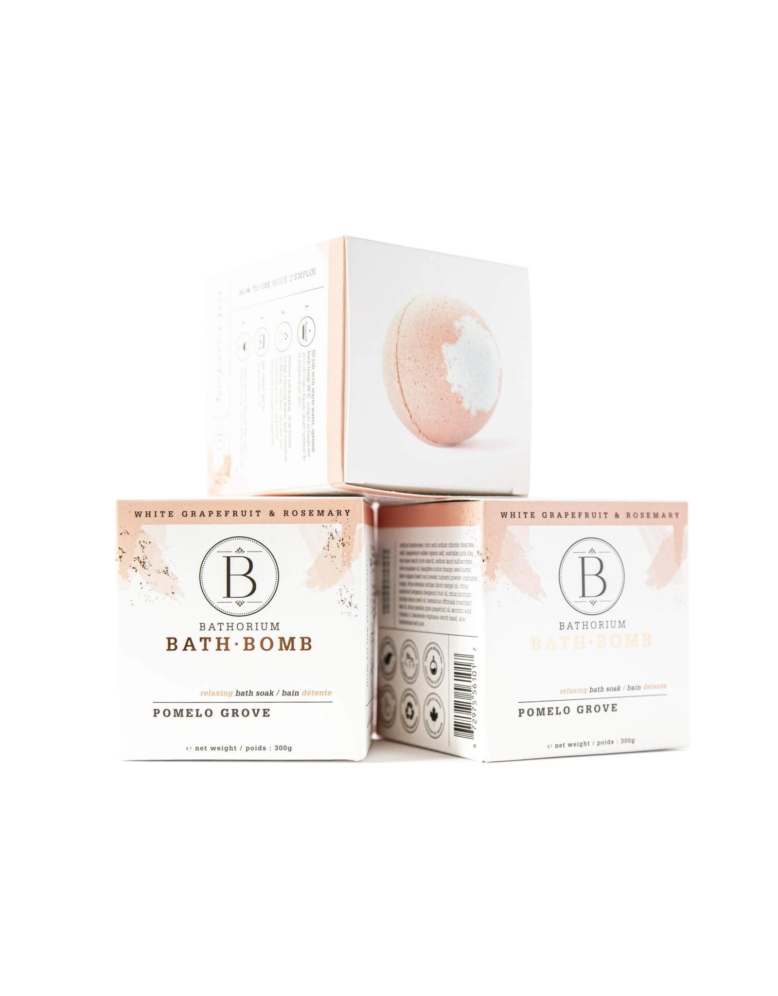 Bathorium Bath Bomb - Pomelo Grove