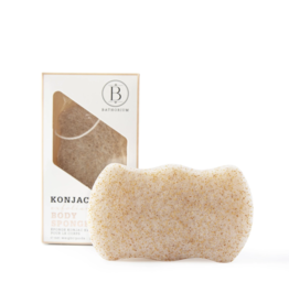 Bathorium Konjac Walnut Shell Exfoliating Body Sponge