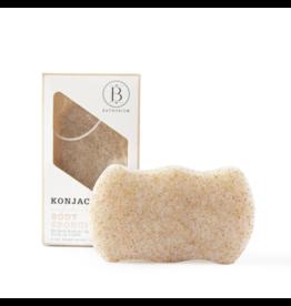 Bathorium Konjac Walnut Shell Exfoliating Body Sponge