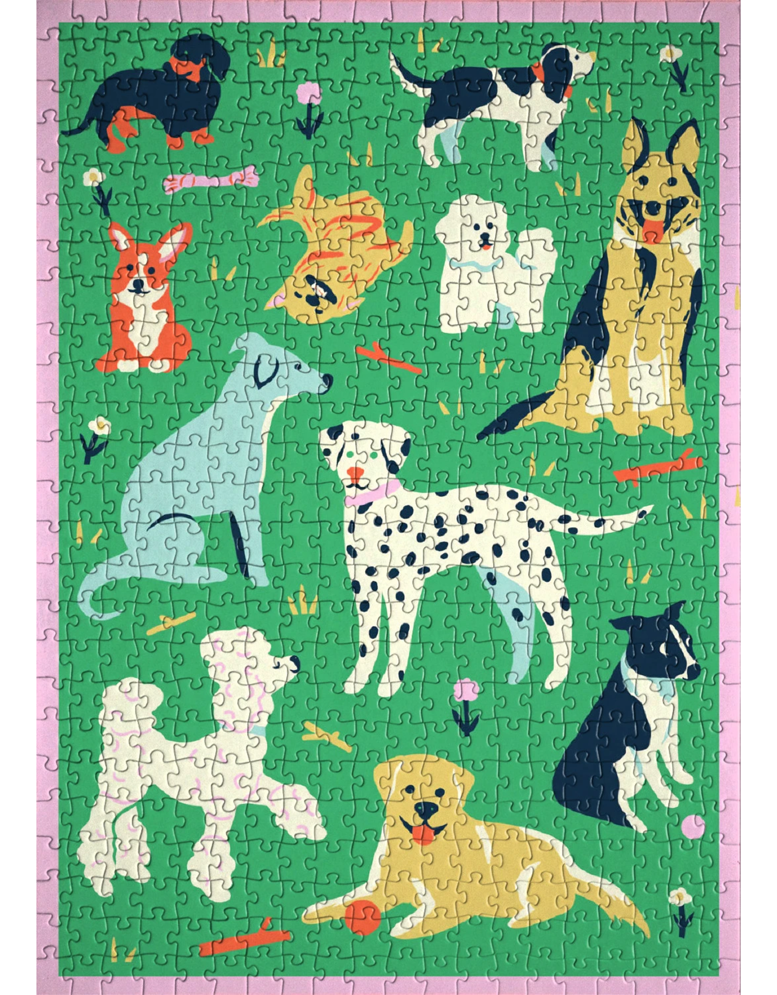 Fits Puzzles 'Sup Dog 1000 Piece Jigsaw Puzzle