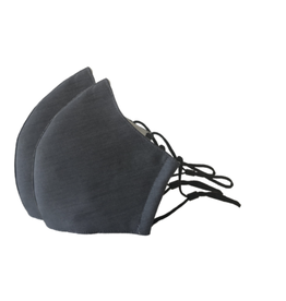Happy Natural Products 3 Layer Masks - Charcoal