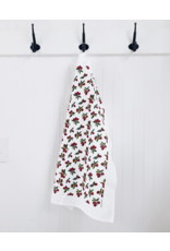 Ten & Co Tea Towel - Vintage Cranberry