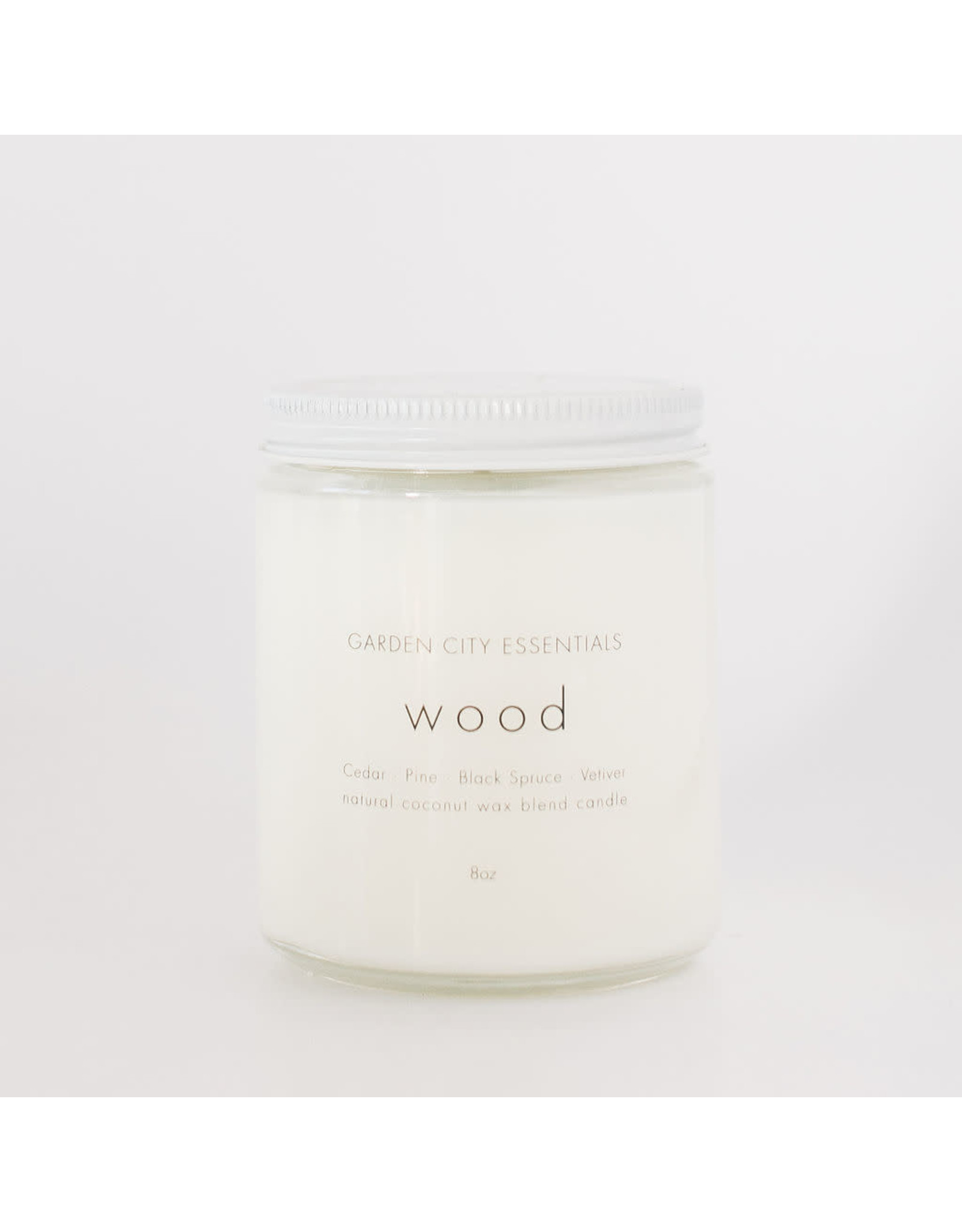 Garden City Essentials Wood Candle