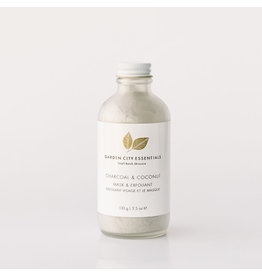 Garden City Essentials Charcoal + Coconut Mask & Exfoliant