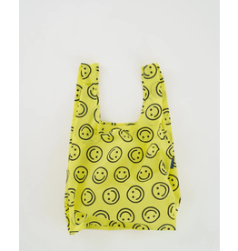 Baggu Baggu Yellow Smiley Reusable Bag