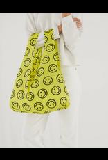 Baggu Baggu Yellow Smiley Reusable Bag