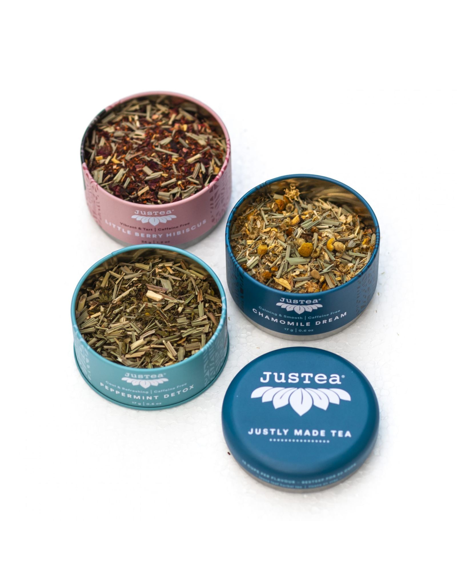JusTea Herbal Tea Trio