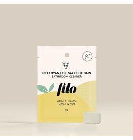 Filo Bathroom Cleaner Tab - Lemon & Mint