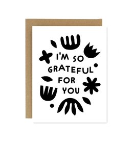 Worthwhile Paper Grateful For You Card