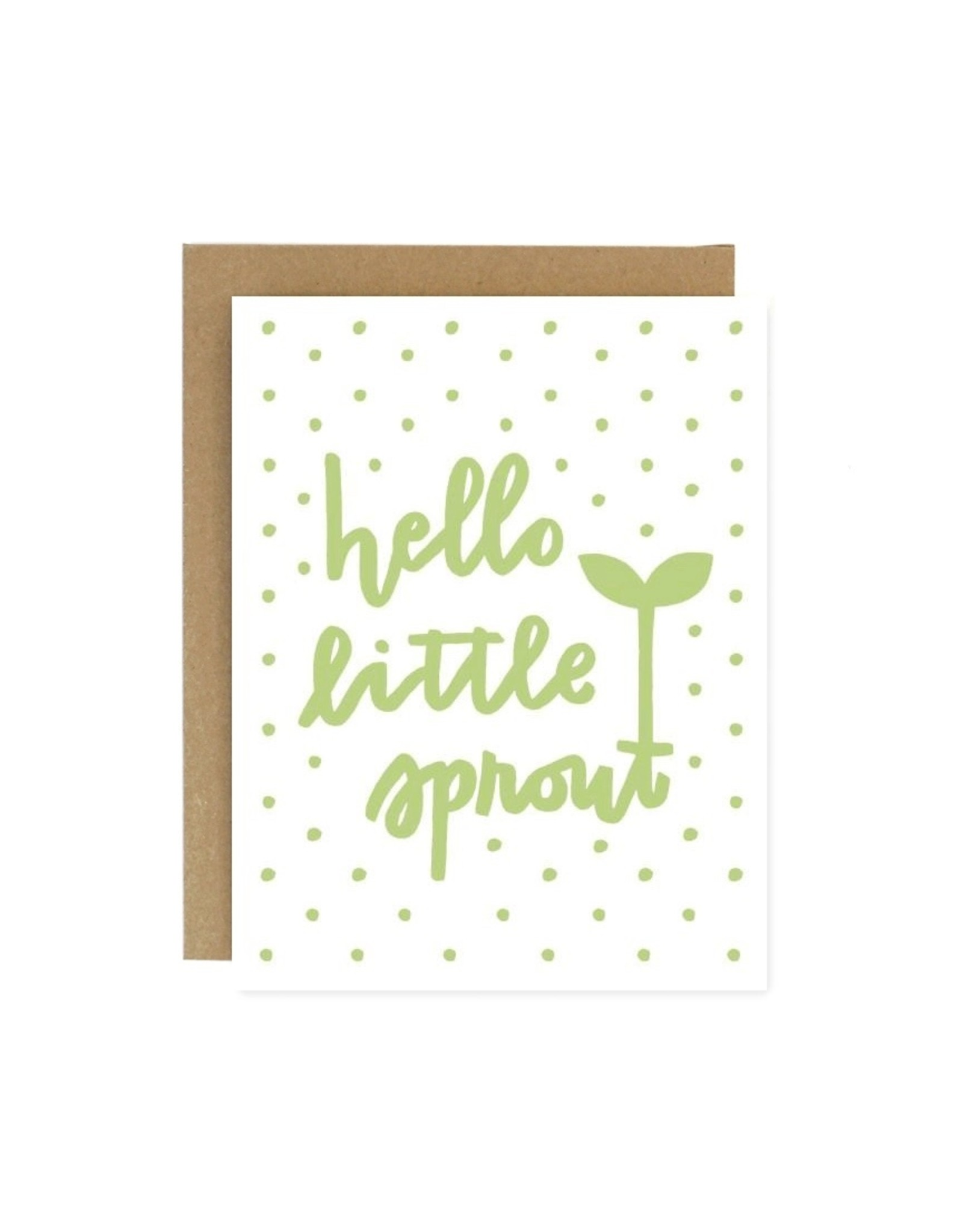 Worthwhile Paper Little Sprout New Baby Card