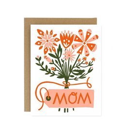 Worthwhile Paper Mother's Day Flower Bouquet Card