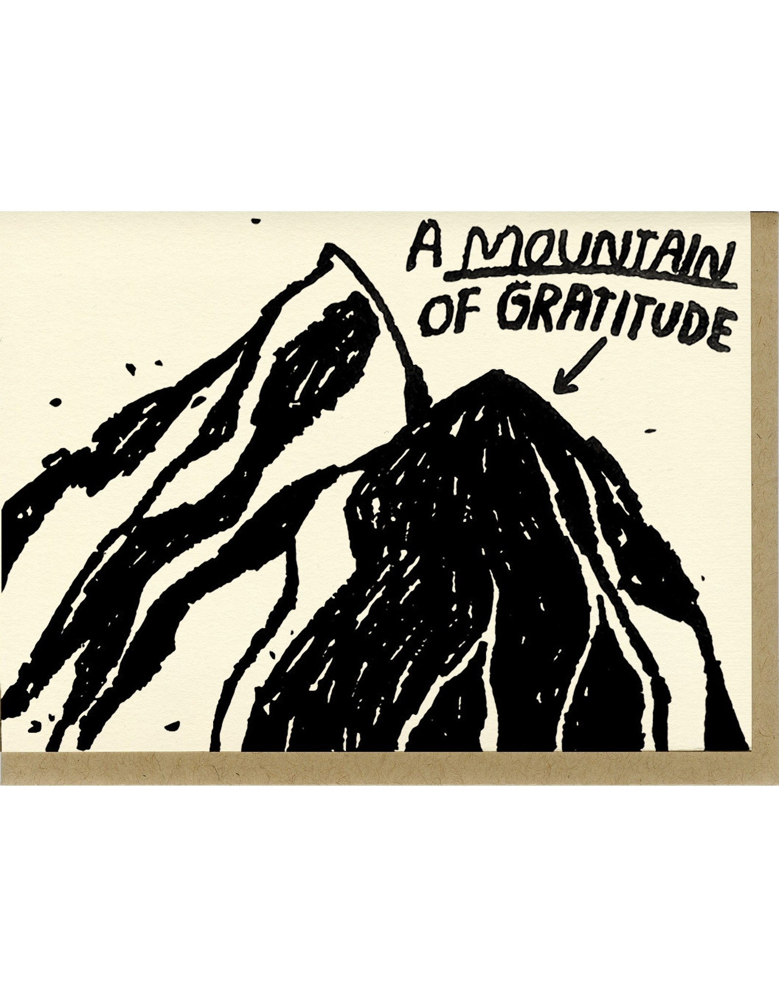 People I've Loved Mountain of Gratitude Card