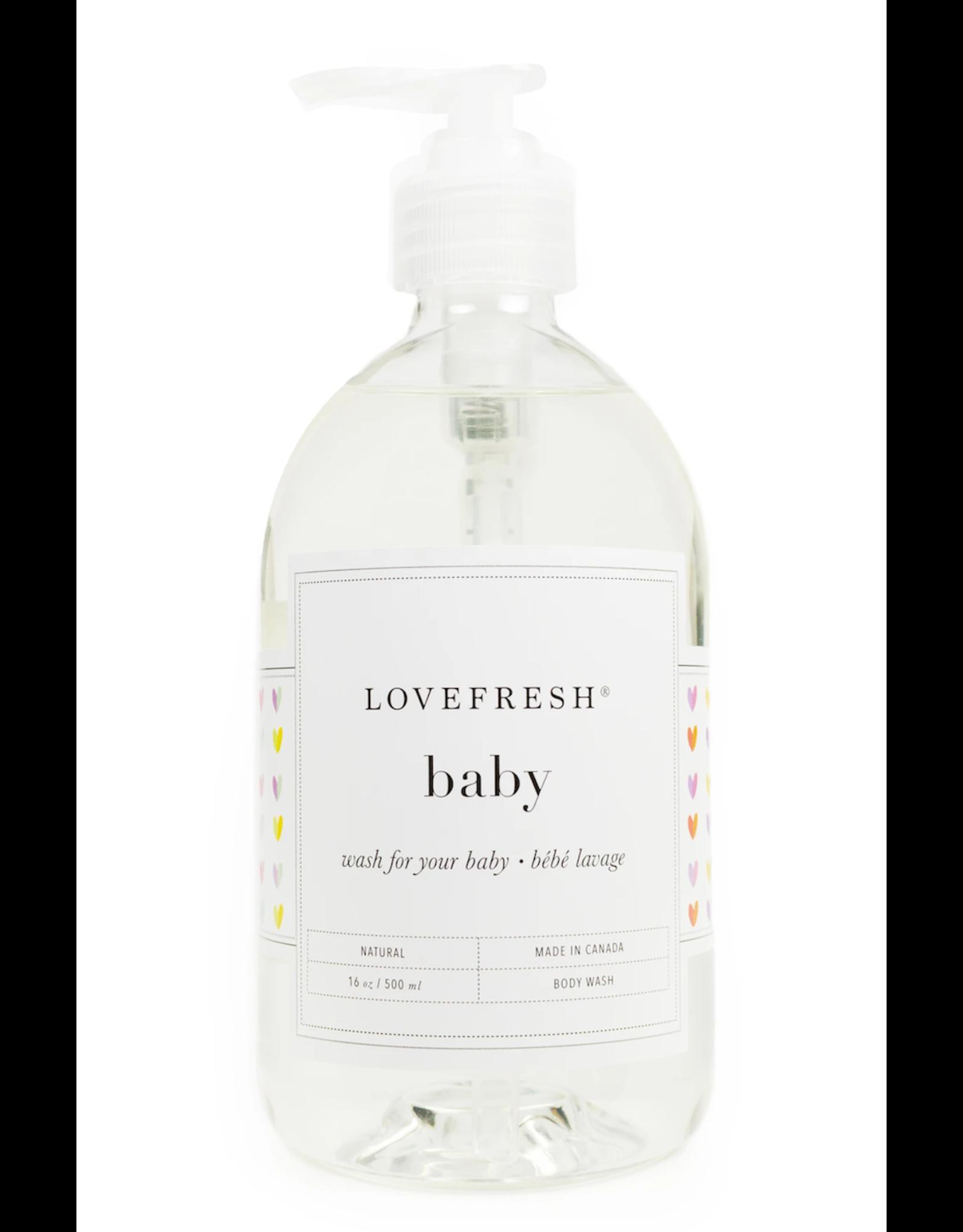 Lovefresh Baby Wash