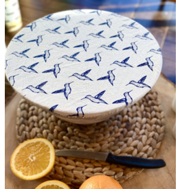 Your Green Kitchen Hummingbirds Medium Fabric Bowl Cover