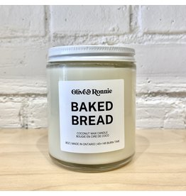 Olive & Ronnie Baked Bread Candle