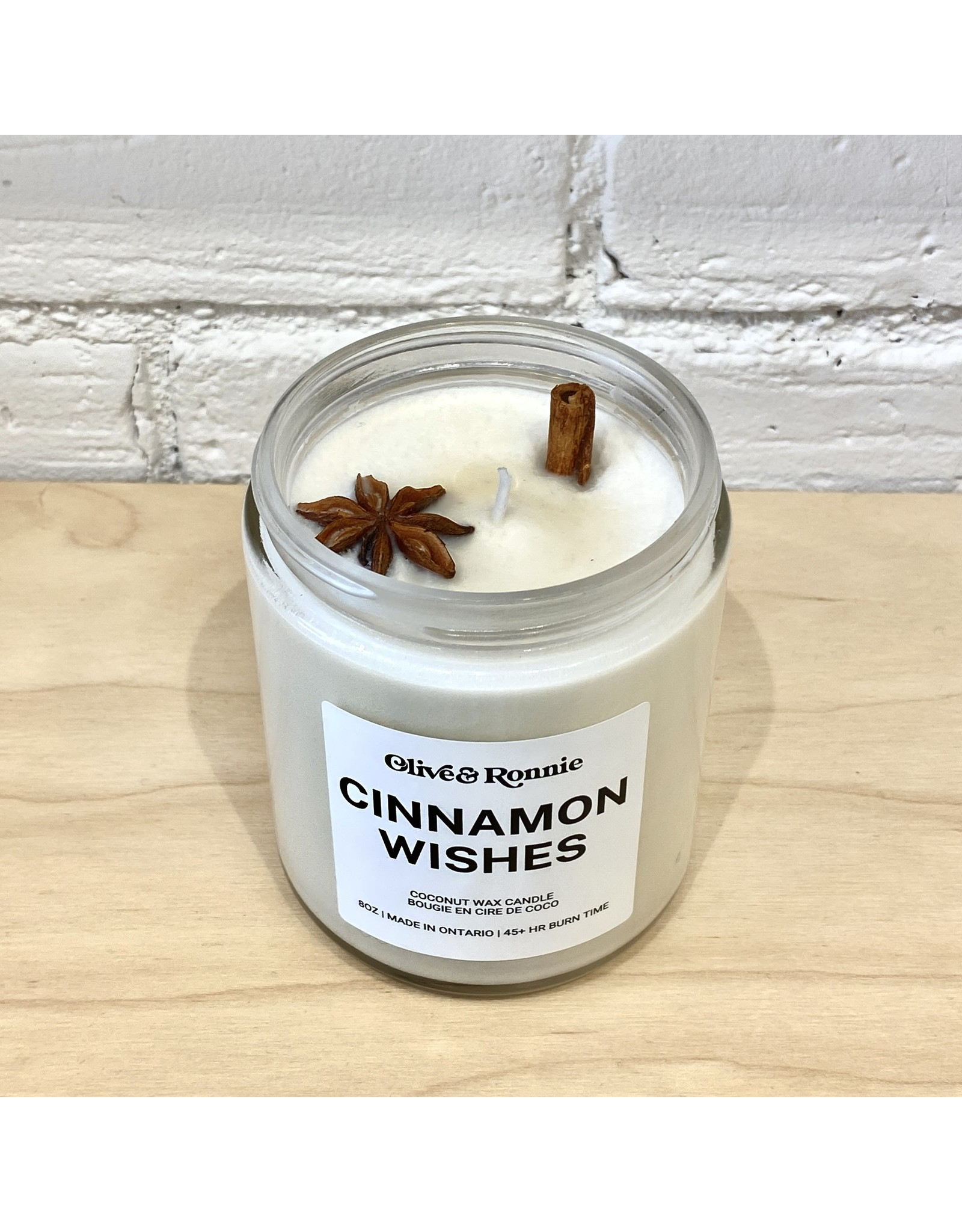 Olive & Ronnie Cinnamon Wishes Candle