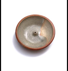 Incausa Stoneware Incense Burner - Celadon