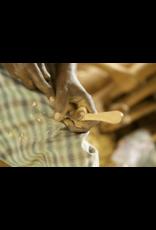 JusTea Hand-carved Kenyan Heart Tea Spoon