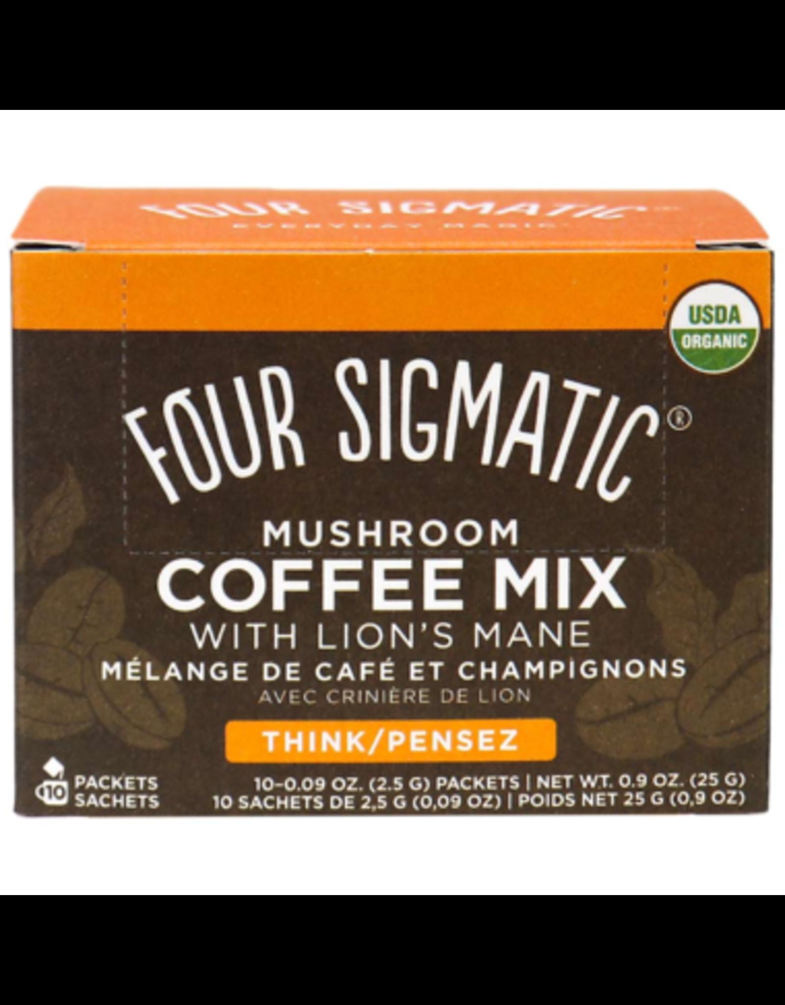 Four Sigmatic Mushroom Coffee Mix w/ Lion's Mane