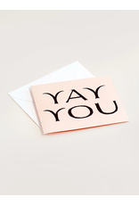 Wilde House Paper Yay You Card