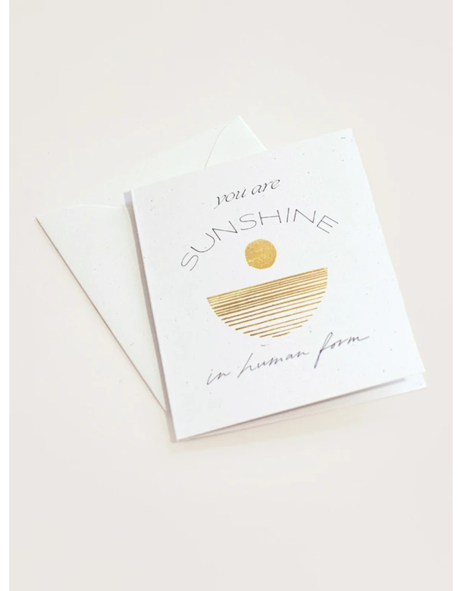 Wilde House Paper You Are Sunshine Card
