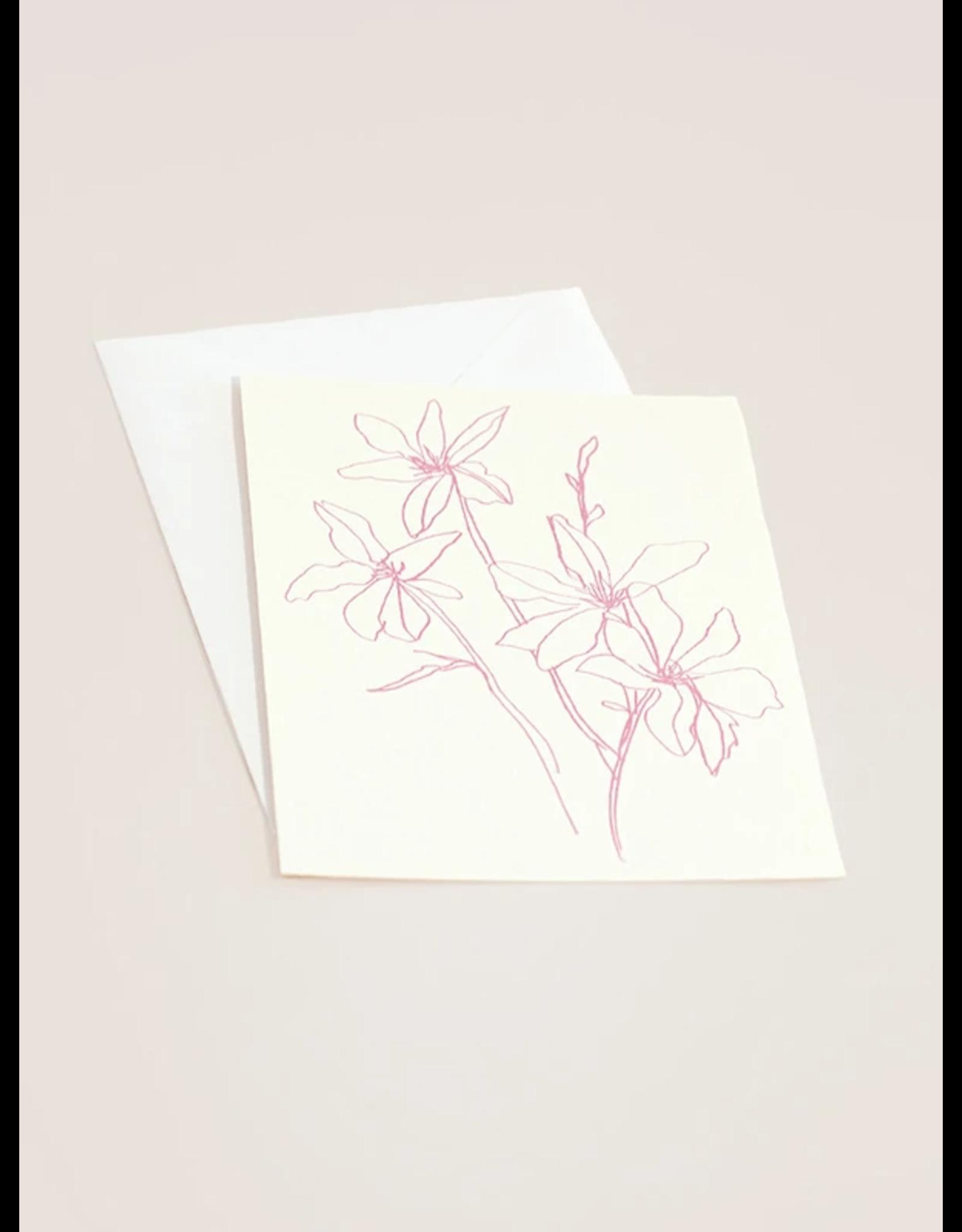 Wilde House Paper Flora Notecard Set of 8