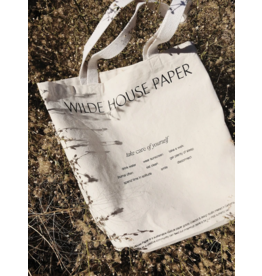 Wilde House Paper Take Care Tote Bag