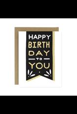 Worthwhile Paper Birthday Banner Card