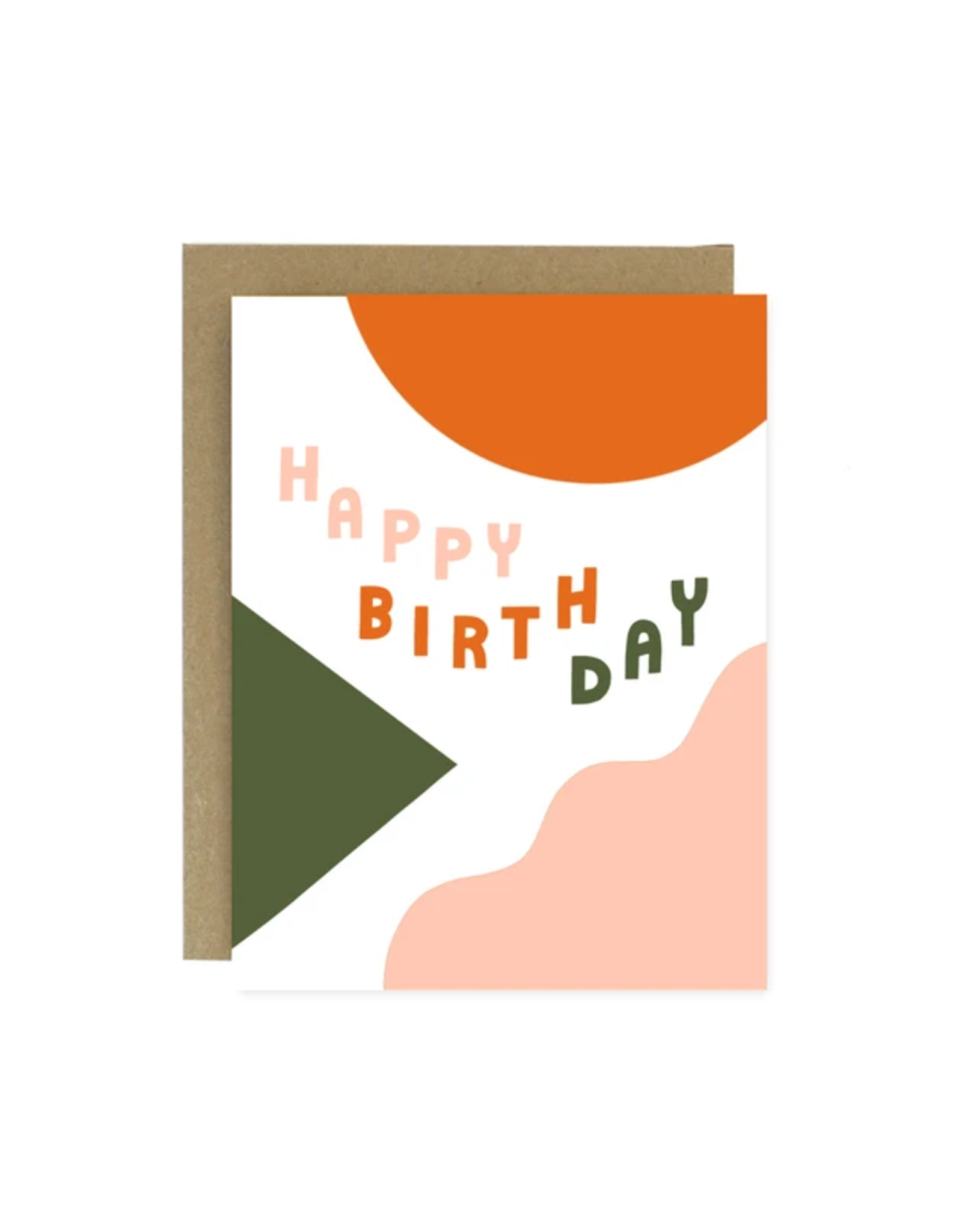 Worthwhile Paper Birthday Shapes & Colours Card