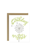 Worthwhile Paper Birthday Wishes Card
