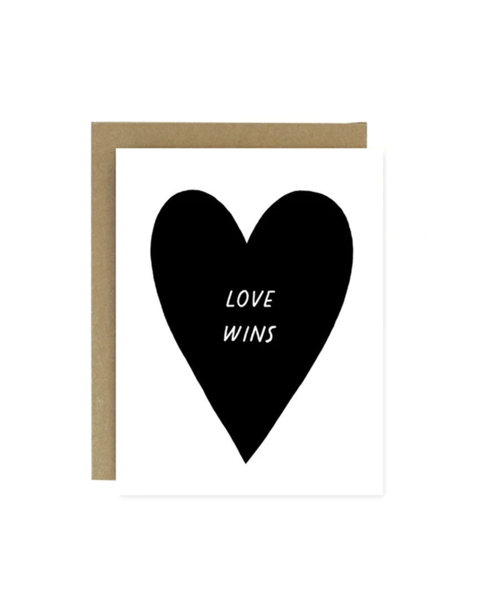 Worthwhile Paper Love Wins Card
