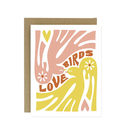 Worthwhile Paper Love Birds Card