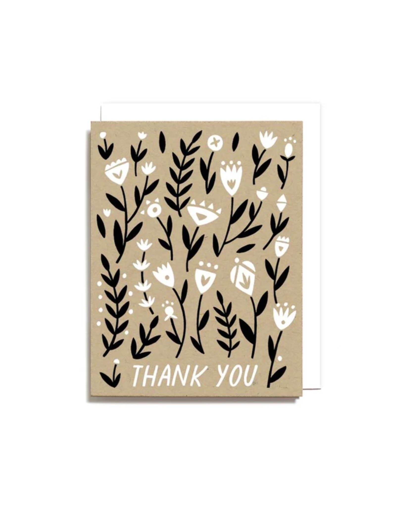 Worthwhile Paper Thank You Floral Boxed Card Set of 6