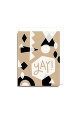 Worthwhile Paper Yay! Geometric Card