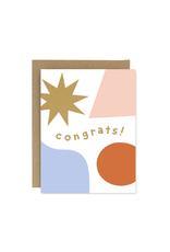 Worthwhile Paper Congrats Shapes & Colours Card