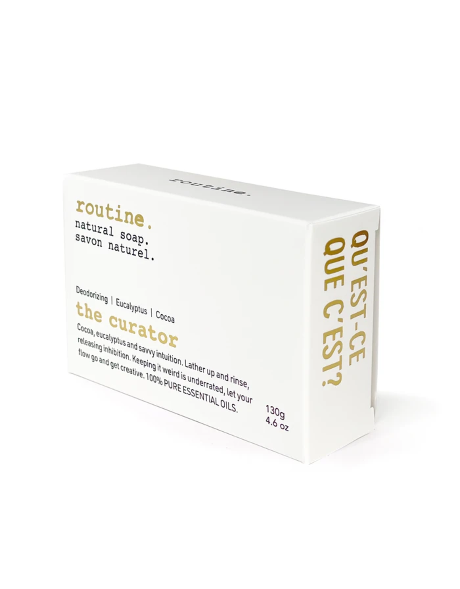 Routine The Curator Natural Bar Soap